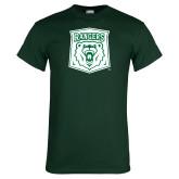 Dark Green T Shirt-Primary Athletic Mark