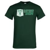 Dark Green T Shirt-Defend The Den