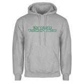 Grey Fleece Hoodie-University of Wisconsin-Parkside