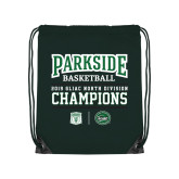 Dark Green Drawstring Backpack-Championships