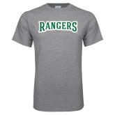 Grey T Shirt-Rangers Wordmark