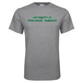 Grey T Shirt-University of Wisconsin-Parkside