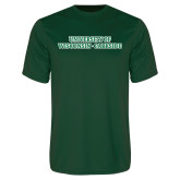 Performance Dark Green Tee-University of Wisconsin-Parkside