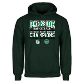 Dark Green Fleece Hood-Championships