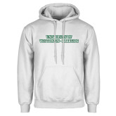 White Fleece Hoodie-University of Wisconsin-Parkside