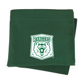 Dark Green Sweatshirt Blanket-Primary Athletic Mark