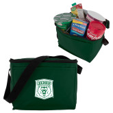 Six Pack Dark Green Cooler-Primary Athletic Mark