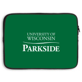 15 inch Neoprene Laptop Sleeve-Parkside Wordmark Vertical