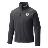 Columbia Full Zip Charcoal Fleece Jacket-Athletic Bear Head