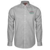 Red House Grey Plaid Long Sleeve Shirt-Parkside Wordmark Vertical