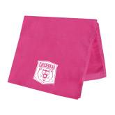 Pink Beach Towel-Primary Athletic Mark