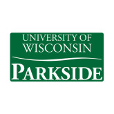 Small Magnet-Parkside Wordmark Vertical, 6 inches wide