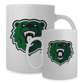 Full Color White Mug 15oz-Athletic Bear Head