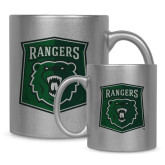 Full Color Silver Metallic Mug 11oz-Primary Athletic Mark