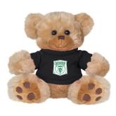 Plush Big Paw 8 1/2 inch Brown Bear w/Black Shirt-Primary Athletic Mark