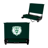 Stadium Chair Dark Green-Athletic Bear Head
