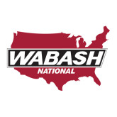 Large Decal-Wabash, 12 inches wide