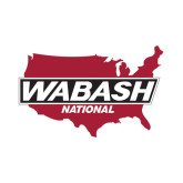 Small Decal-Wabash, 6 inches wide