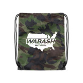 Camo Drawstring Backpack-Wabash