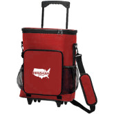 30 Can Red Rolling Cooler Bag-Wabash