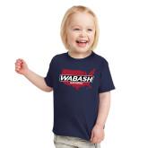 Toddler Navy T Shirt-Wabash