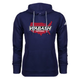 Adidas Climawarm Navy Team Issue Hoodie-Wabash