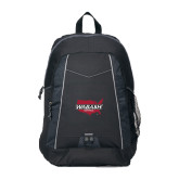 Impulse Black Backpack-Wabash