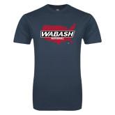 Next Level SoftStyle Indigo Blue T Shirt-Wabash