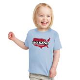 Toddler Light Blue T Shirt-Wabash