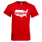 Red T Shirt-Wabash
