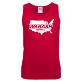 Red Tank Top-Wabash