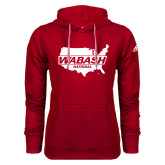 Adidas Climawarm Red Team Issue Hoodie-Wabash