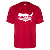 Syntrel Performance Red Tee-Wabash