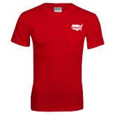 Red T Shirt w/Pocket-Wabash