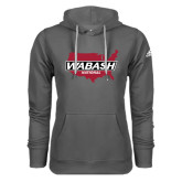 Adidas Climawarm Charcoal Team Issue Hoodie-Wabash