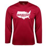 Performance Cardinal Longsleeve Shirt-Wabash