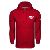 Under Armour Cardinal Performance Sweats Team Hoodie-Wabash