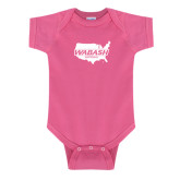 Fuchsia Infant Onesie-Wabash
