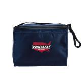 Six Pack Navy Cooler-Wabash