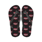 Ladies Full Color Flip Flops-Wabash