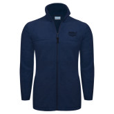 Columbia Full Zip Navy Fleece Jacket-Wabash