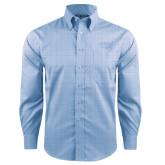 Red House Light Blue Plaid Long Sleeve Shirt-Wabash