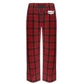 Red/Black Flannel Pajama Pant-Wabash