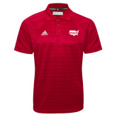 Adidas Climalite Red Jaquard Select Polo-Wabash