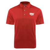 Red Dry Mesh Polo-Wabash
