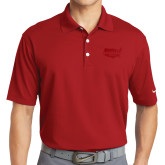 Nike Golf Dri Fit Red Micro Pique Polo-Wabash