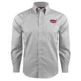 Red House Grey Plaid Long Sleeve Shirt-Wabash