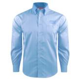 Red House Light Blue Dobby Long Sleeve Shirt-Wabash