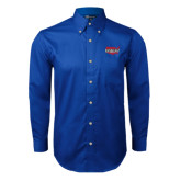 Royal Twill Button Down Long Sleeve-Wabash