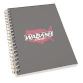 Clear 7 x 10 Spiral Journal Notebook-Wabash